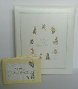 Beatrix Potter Peter Rabbit Baby Book Photo Album and Moms Brag Book