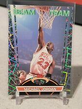 1992-93 MICHAEL JORDAN STADIUM CLUB BEAM TEAM INSERT #1 CHICAGO BULLS HOF