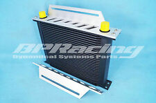 30 row 10AN High Performance Transmission Engine Oil Cooler + 2 MOUNTING BRACKET