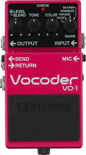 Boss VO-1 Vocoder Voice Effects Guitar Pedal VO1