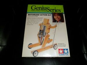 Very Rare Old Genius Series Motorized Cross Country Skier Action Kit model New