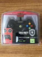 Xbox 360 Call of Duty: Black Ops PrecisionAIM Wired Controller by Mad Catz NEW