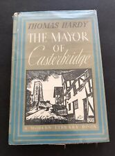 The Mayor of Casterbridge by Thomas Hardy pub. Modern Library Book