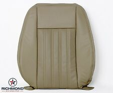 2005 Lincoln Aviator AC-Driver Side Lean Back PERFORATED Leather Seat Cover Tan