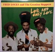 """FRED LOCKS creation steppers 12"""" LP ❂ Love and Only Love ❂ 1982 regal UK coxsone"""
