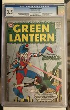 GREEN LATERN #1 D.C. COMICS 7-8/60 ORIGIN OF GREEN LATERN RETOLD CGC 3.5