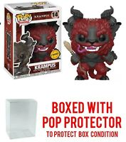Funko Pop! Holidays Krampus Vinyl Figure Chase #14 In Stock with Protector