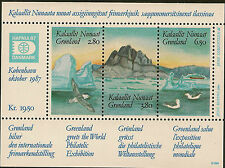 GREENLAND :1987 Hafnia 87  Miniature Sheet SG MS169 unm mint