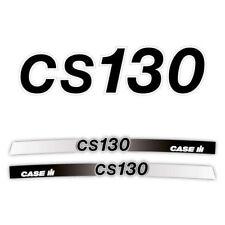 Case CS 130 tractor decal aufkleber adesivo sticker set