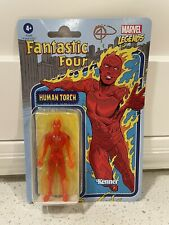 Marvel Legends Kenner Human Torch Fantastic Four 3.75 New 2021