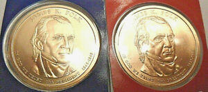 2009 P & D James K Polk Presidential Set  *MINT CELLO*  **FREE SHIPPING