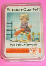 PUPPEN - QUARTETT - KARTENSPIEL / ASS ALTENBURG - STRALSUNDER Nr. 714