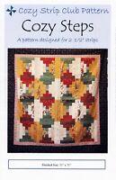 Cozy Steps Quilt Pattern - Cozy Quilt Designs