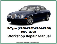 Jaguar S Type Workshop Manual (X200-X202-X204-X206) 1999-2008 Download