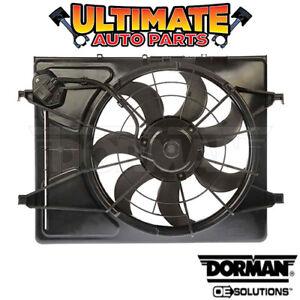 Radiator Cooling Fan (2.0L 4 Cylinder) for 07-10 Hyundai Elantra