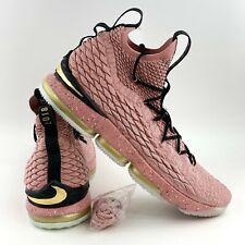 pink lebron 15