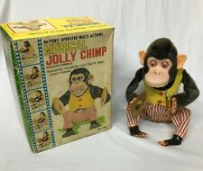 Daishin MUSICAL JOLLY CHIMP 1960s Original Box Does Not Work