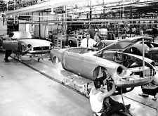 MGB assembly line made in Australia 8 x 10 photograph