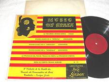 """Enrique Jorda / Paris """"Music of Spain"""" 1950's LP, VG, London LL.191, ffrr, 1D/2D"""