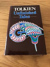Unfinished Tales By J R R Tolkien 1st UK Edition 1st Print Hardback 1980 & Map