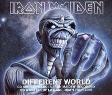 IRON MAIDEN - Different World (1+ Tracks) - CD