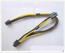 Mac Pro / G5 mini MAC 6pin to 2* pci-e 6pin video card power cable support 7800