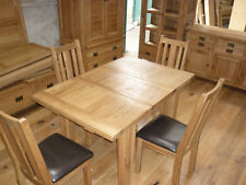 VANCOUVER PETITE NB058EX OAK TABLE 100CM EXTENDS 140CM LISTING IS FOR TABLE ONLY