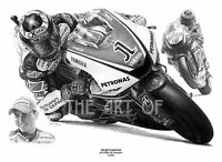 Jorge Lorenzo 99 by Billy limited edition fine art print