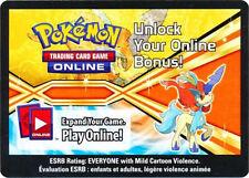 Pokemon TCG Keldeo Online Promo Code Card FROM 2013 Spring Tin