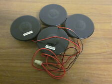 VIBRATING SEAT BACK MASSAGING MOTORS SET OF 4, CHECK CORP MTR-ASY-12V-2 NEW