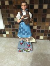 """JIM SHORE WIZARD OF OZ DOROTHY 4037531 """"MY GOODNESS"""" -  NEW WITHOUT BOX"""