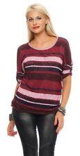 Damenblusen, - tops & -shirts mit Rundhals-Ausschnitt aus Polyester in Größe 42