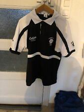 Polo Cotton Traders Rugby Barbarians 1890 Noir Blanc L Mais Plutôt XL