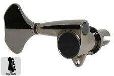 GOTOH GB707 Compact Bass Tuning Machines Tuners - 5R - Cosmo Black