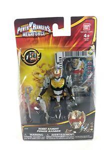 "POWER RANGERS Mega Force ROBO KNIGHT 4"" Figure - Ban Dai w/ collector card NEW"