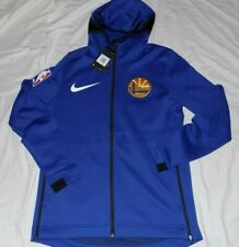 Nike NBA Golden State Warriors Therma Flex Showtime Hoodie Sweater SZ XXL-TALL