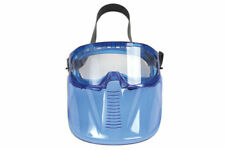 Safety Goggles With Detachable Face Shield vented Frame adjustable strap