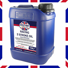 10L RACING TWO STROKE OIL FULLY SYNTHETIC 2 STROKE OIL 10 LITRES