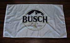 Busch Banner Flag Anheuser-Busch Beer Brewery Brewing Bar 3x5 USA Shipper New