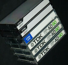 6 x TDK Cassette Tapes AR60 AD90 Ferric / Type I / Normal Position
