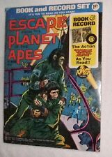 Escape From The Planet Of The Apes Comic & Record Set 1974 Power Record Pr-19