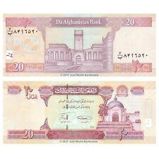 Afghanistan 20 Afghanis 2008 P-68c Banknotes  UNC