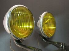 1934 - 1937 GM Accessory Guide Fog Lights 6 11/16 inch Driving Lamps
