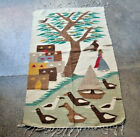 Vintage Pictorial with Tree of Life Rug