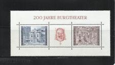 AUSTRIA. Año: 1976. Tema: BICENTº DE BURGTHEATER EN VIENA.