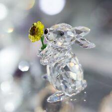 Swarovski Rabbit With Sunflower Mib #5301583