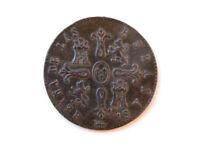 Moneda 8 Maravedís, Isabel II, 1842