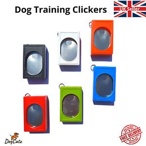 Dog Clicker, Puppy Training, Train Cat Kitten Pet Obedience Recall, Stop Barking