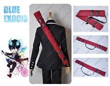 [In Stock]Ao no Blue Exorcist Rin Okumura Just Cosplay Red Sword Bag for Costume