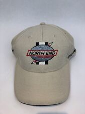 North End Mens Classic Tan Tournament Stretch Cap Performance NEW
